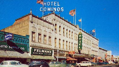 In its hey-day the Hotel Cominos in Salinas played host to presidents and dignitaries.