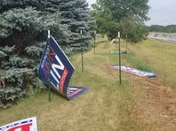 Officials: Vandals targeting political signs in Livingston County