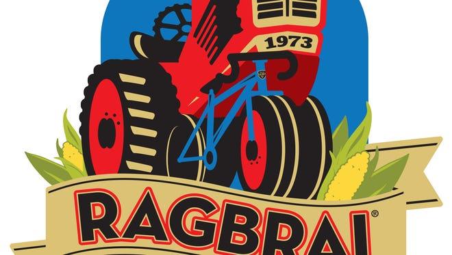 RAGBRAI XLIII logo 2015