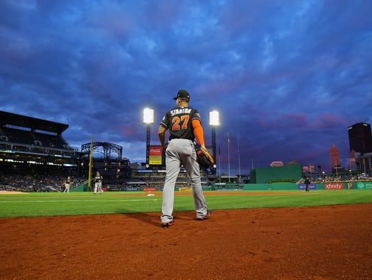 """""""I just want to win,'' Stanton says, """"that's all I've"""