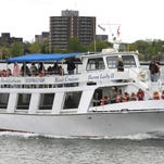 The Huron Lady II dinner cruise to the River Crab Restaurant in St. Clair gives passengers a different look at the St. Clair River.