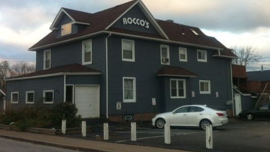 One man died and a second was injured outside Rocco's bar on Clinton Street in Brockport early Sunday.