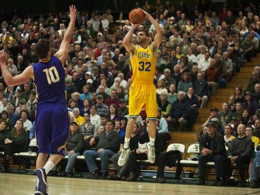 Albany vs. Vermont Men's Basketball 01/28/15