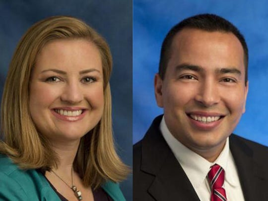 Councilwoman Kate Gallego and Councilman Daniel Valenzuela.