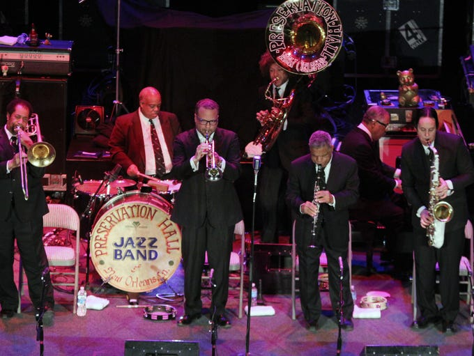 Preservation Hall Jazz Band, pictured in 2013, are