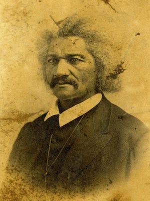 Frederick Douglass, orator and abolitionist, 1867.