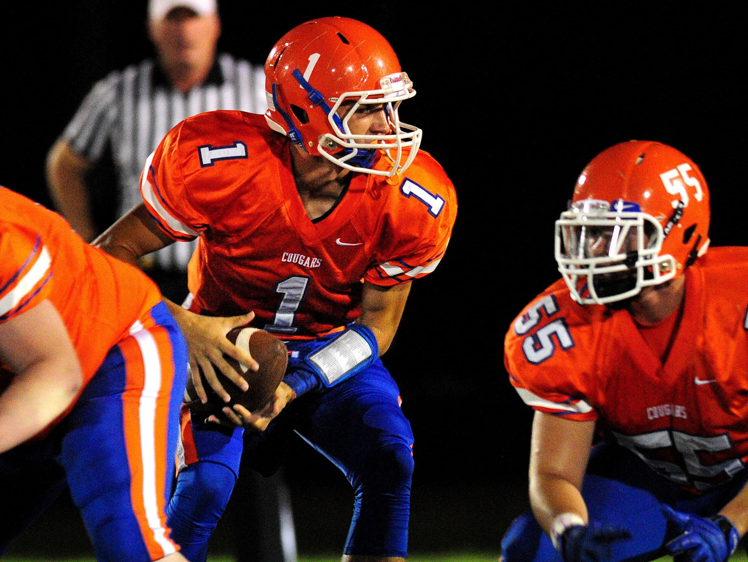 Wiley Cleland returns this season as Columbia Academy's starting quarterback.