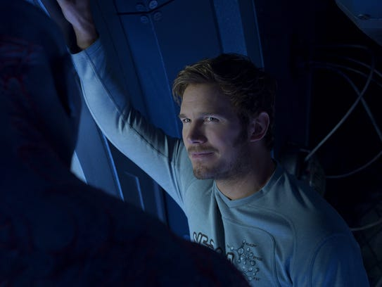 Chris Pratt's Peter Quill meets his real father for