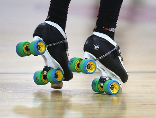 Roller derby is played on quad speed skates, not inline