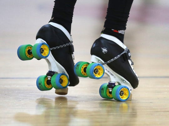 Roller derby is played on quad speed skates, not inline skates. Brands and styles of skates vary, with most skaters choosing custom combinations of skate boots, plates and wheels for maximum comfort, agility, speed and support.