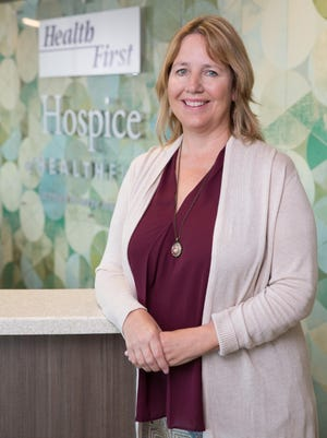 Teresa Loudenslager is a bereavement counselor for Hospice of Health First in West Melbourne.