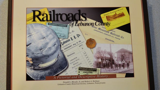 """Railroads of Lebanon County"" by Donald L. Rhoads Jr. and Robert A. Heilman, of the Lebanon County Historical Society, is a 196-page pictorial and descriptive history of railroads that once ran around and through Lebanon County and the industries and people they served."