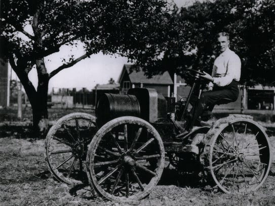 Years before he mass produced the Fordson Tractor,