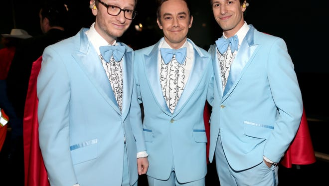 Lonely Island attends the 87th Annual Academy Awards at Dolby Theatre on February 22, 2015 in Hollywood, California.