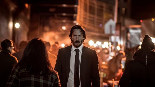 "Keanu Reeves in ""John Wick: Chapter 2."""