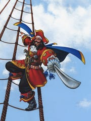 Don Maitz designed the Captain Morgan character for Seagram in 1982.