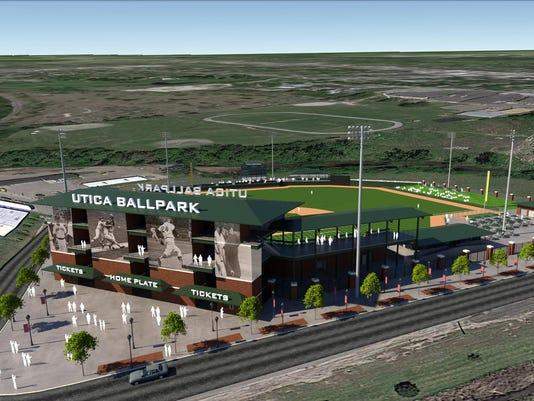 Utica Baseball Stadium 2