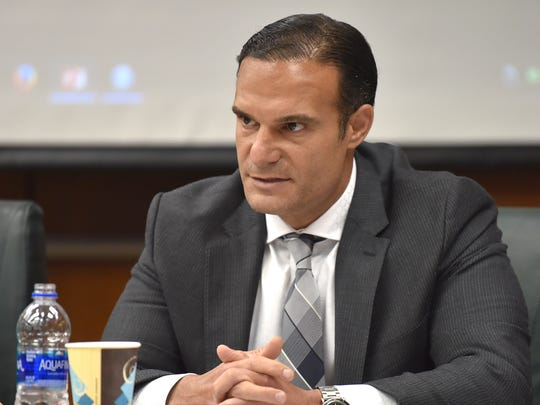 Trustee Brian Mosallam makes a motion to replace Interim