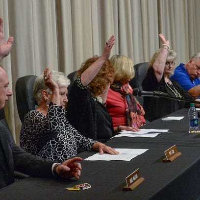 The Anderson One School Board ends the special meeting