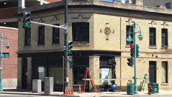 The former Irish Pub, 124 N. Water St. at Erie St., is planning its grand opening the week of May 21.