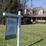 This home was on the market in Suffern in 2013.