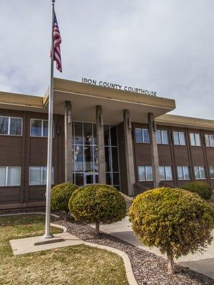 Iron County Courthouse, Tuesday, Mar. 1, 2016.