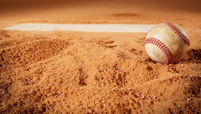 Tuesday's high school baseball games.