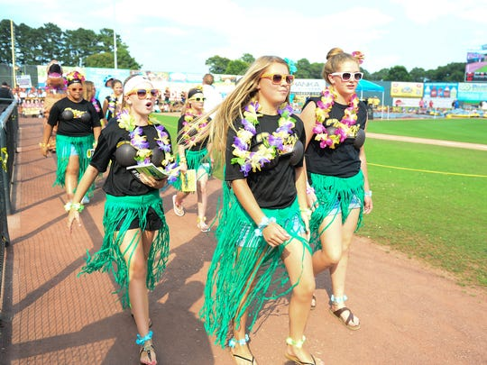 The United States Specialty Sports Association's Eastern Nationals have returned to Wicomico County for the 12th year. The USSSA held their annual parade of the teams at the Arthur W. Perdue Stadium on Wednesday, July 11, 2018.