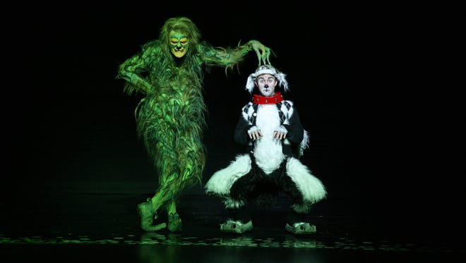 """King of sinful snots: """"Dr. Suess' How the Grinch Stole Christmas! the Musical"""" opens Tuesday at the PAC."""