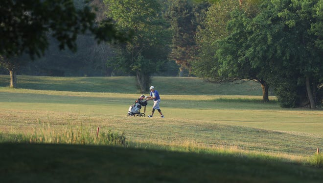 Three public golf courses, including one in Genesee Valley Park, will remain closed until further notice because of the COVID-19 pandemic, Monroe County announced Wednesday morning.
