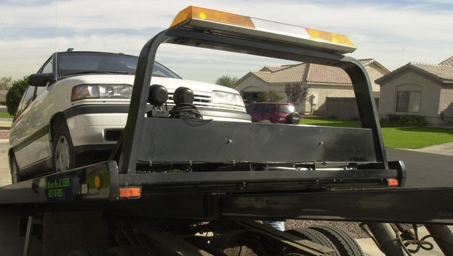 """AAA is offering Arizonans a free ride home on Labor Day, as part of its """"Tipsy Tow"""" service."""