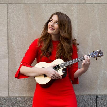 Mandy Harvey's current tour stops at the Admiral Theatre