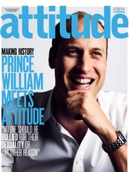 Prince William is the first royal family member to