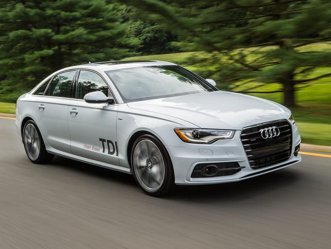 The Audi A6 TDI with a 3-liter, six-cylinder clean diesel.