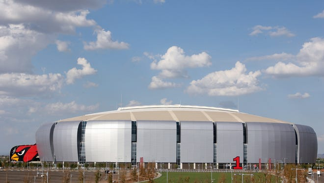 Glendale's University of Phoenix Stadium in 2006.