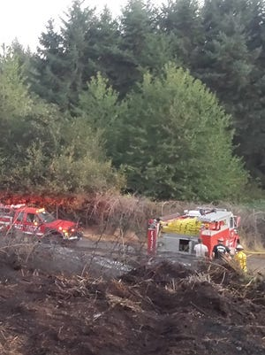 Serious wildland fire during the summer of 2015  occurred near the Oregon Gardens and threatened some nearby homes. Silverton FD crews were able to contain and put the fire out after some very intensive firefighting.