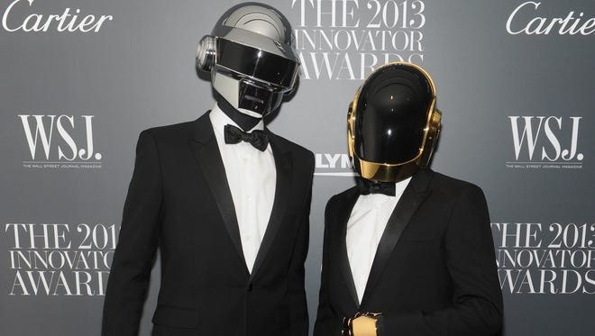 "Daft Punk attends the 'WS'J magazine's ""Innovator Of The Year"" Awards 2013  in New York City."
