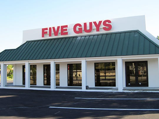 Five Guys permanently closed its location on U.S. 41 East in East Naples on Monday.