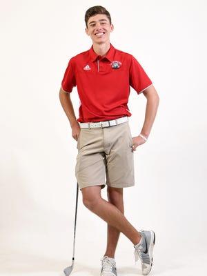 Carolina Day sophomore golfer Parker Truesdale.