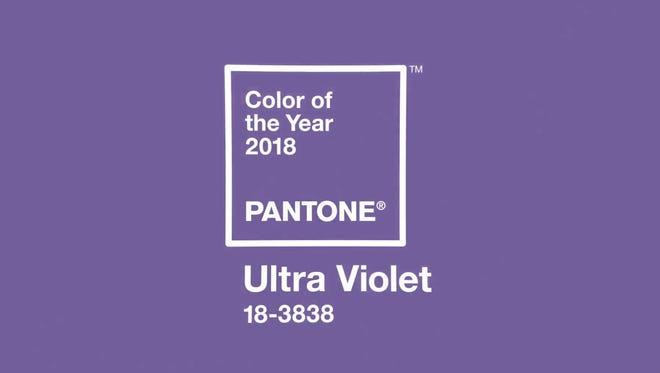 Ultra Violet is Pantone's Color of the Year, 2018.