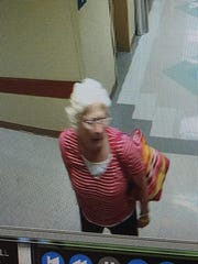 Brenda Masters was last seen near Saint Thomas West Hospital on Saturday. This hospital security image shows her on the day she was last seen.