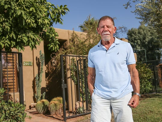 Nick Warner lives in the Waverly Park condominium community in Palm Springs.