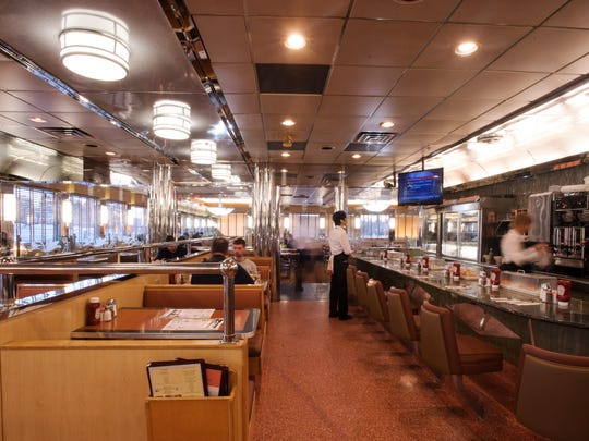 Tick Tock Diner is a classic North Jersey restaurant that has stood the test of time. Interior of the diner show