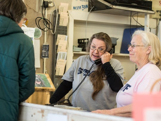 H.E.L.P. the Animals shelter director Sharon McDowell works at the shelter on Saturday, April 7, 2018.