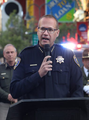 Reno Police Chief Jason Soto (photo from May 2018)