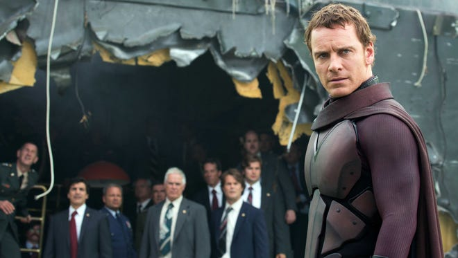 """Michael Fassbender in the film, """"X-Men: Days of Future Past."""""""