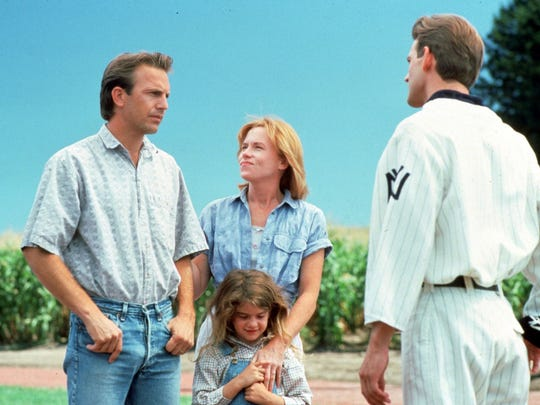 Ray (Kevin Costner, left) introduces his family (Amy