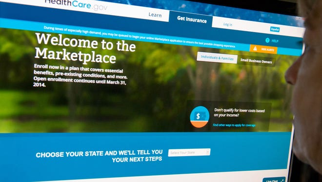 HealthCare.gov insurance marketplace internet site