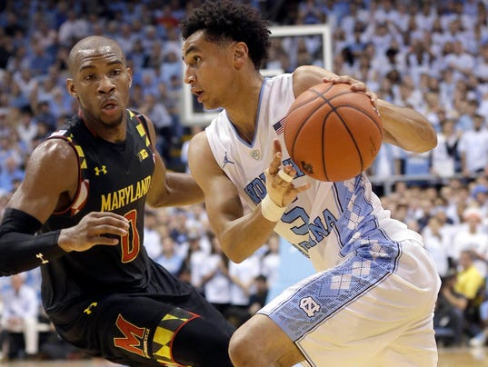 AP MARYLAND NORTH CAROLINA BASKETBALL S BKC T25 USA NC