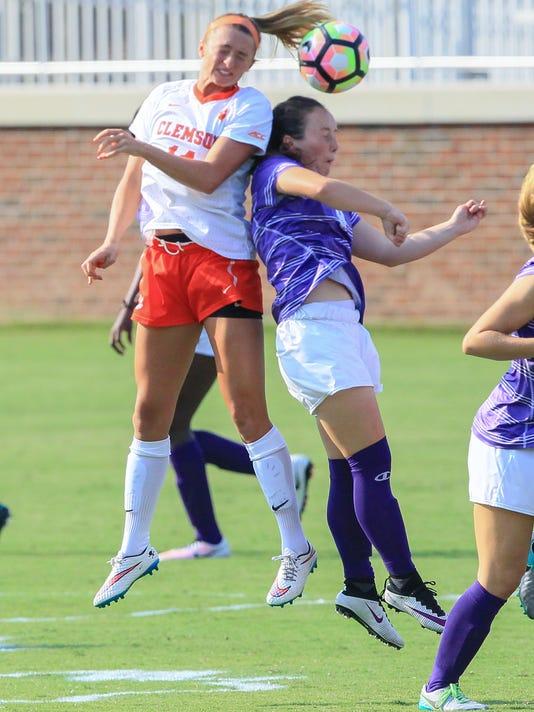 Clemson women soccer vs High Point
